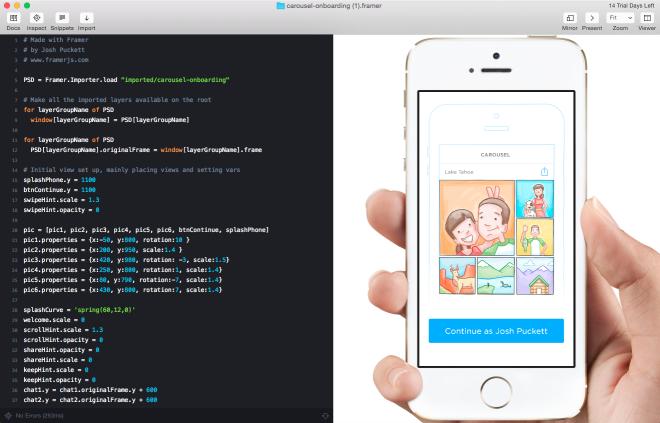 Framer Studio Mac App